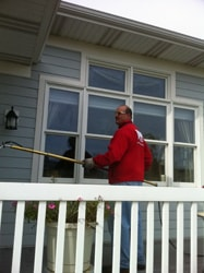 Fish Window Cleaning Grand Rapids Power Washing Deck