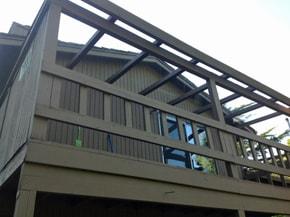 Deck glass after