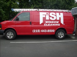 Fish Window Cleaning van