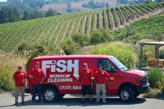 FISH Crew with Van