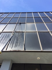Before Professional Window Cleaning