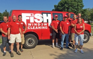 Fish Window Cleaning of Green Bay Team