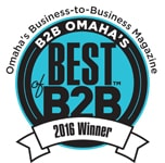 B2B Omaha's Best of B2B 2016 Winner