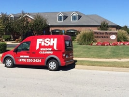 Fish Window Cleaning Northwest Arkansas Cleaning Walker Brothers Insurance