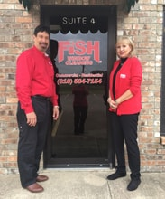 Fish Window Cleaning Owners, Jorge & Nancy Negron
