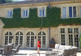 Fish Window Cleaning Dallas Uses Water-Fed Pole To Clean Residential Windows