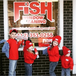 Fish Window Cleaning Monroeville PA Owners' Family