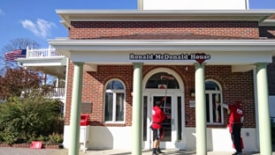 Fish Window Cleaning Cleans The Ronald McDonald House