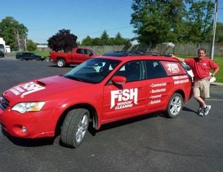 Fish Window Cleaning Spokane Owner Tim Turner