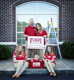DeBord Family, Fish Window Cleaning