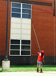 Fish Window Cleaning Denton Cleaning With A Water-Fed Pole