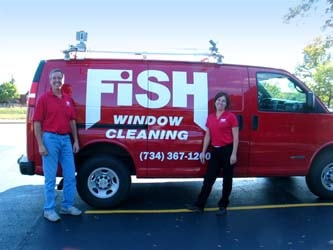 Greg & Anne Sanders - Owners, Fish Window Cleaning