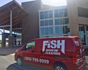 Fish Window Cleaning Littleton CO Van