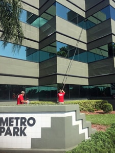 Fish Window Cleaning Cape Coral Cleaning Exterior Office Building Windows