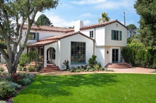 Customer Home in Santa Barbara CA