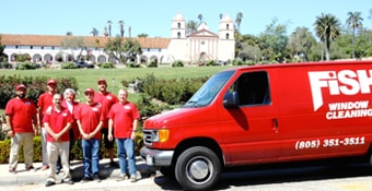 Fish Window Cleaning Santa Barbara CA Team