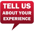 Tell Us About Your Experience
