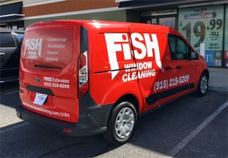 Fish Window Cleaning El Paso Van